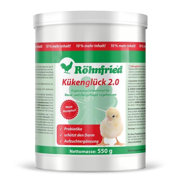 Kükenglück 2.0 – Ergänzungsfuttermittel für Küken