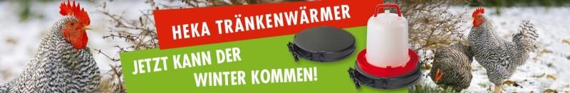 HEKA Tränkenwärmer - jetzt für den Winter bestellen!