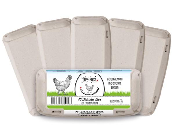 3080 Stück OptiPack mit eigenem Etikett – Palettenware & Gratis-Etikett