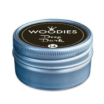 Stempelkissen-Dose für Woodies-Stempel Schwarz