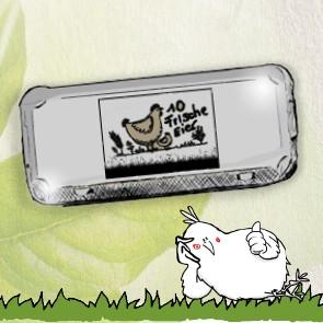 Flex-Paket: 300 Stück 10er Eierschachteln mit Etikett Freiland